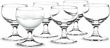 Holmegaard - Royal Schnapsglas, 6 cl (6er-Set)