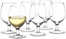 Holmegaard - Royal Weißweinglas, 21 cl (6er-Set)