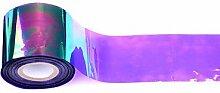 Holographischer glänzender Laser Nagel Transfer