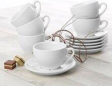 Holst Porzellan CL 004 FA10 Cappuccino-Set