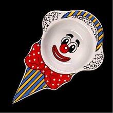Holst Porzellan Dessertschale Clown Dessertteller