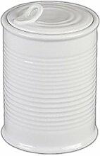 Holst Porzellan SL 013 Vorratsdose Konserve 16 cm, weiß, 12 x 12 x 17.5 cm