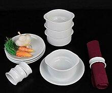 Holst Porzellan STB 001 FA3 Suppen-Servierset mit