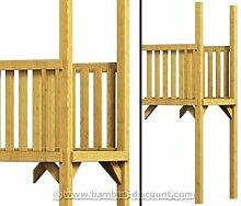 Holz Anbau für Basis Spielturm, Verlängerung aus Holz 101x113x290cm - Kinderspielgeräte für Garten, Spielgeräte für Kinder, Spielturm, Spieltürme