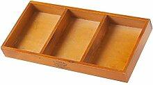 Holz-Aufbewahrungsbox für den Schreibtisch, für