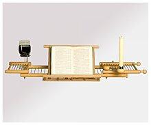 Holz-Badewannenablage LUXUS aus Buche