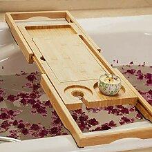 Holz-Badewannenständer Badregal Mit Ausziehbaren