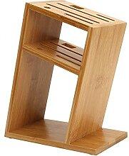 Holz Bambus Küchenmesserhalter Restmesser Block
