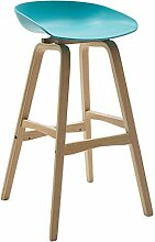 Holz Barhocker/Esszimmerstuhl / hohe Hocker/Runde