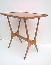 Holz Beistelltisch, 1950s