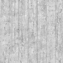 Holz Beton 10m x 52cm Tapete Wandbild East Urban
