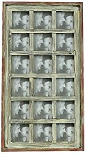 Holz Bilderrahmen Collage für 18 Bilder