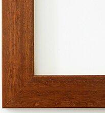 Holz - Bilderrahmen Florenz Braun 4,0 - 50x50 -