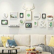 Holz-Bilderrahmen-Set zur Wandmontage Home Mall -