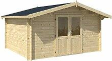 Holz-Blech Gartenhaus Neva 1