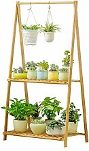 Holz Blume Rack Indoor Plant Stand Holz Pflanze