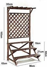 Holz Blumenregal ---- Massivholz-Blumen-Racks