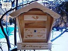 Holz-Briefkasten, Briefkasten HBK-SD-NATUR aus