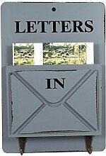 Holz Briefkasten Buchstabe Rack Wand montiert Mail
