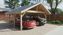 Holz-Carport Henley XL 5 x 6 m