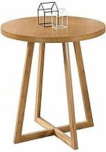 Holz Couchtisch Sofa Tisch Garten Runden Tisch