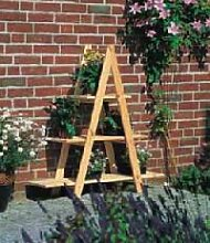 Holz Dekoleiter 1/Stck  ,Länge:101cm ,Breite:31cm ,Höhe:112cm