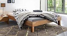 Holz-Doppelbett Luzern, 160x200 cm, Buche natur