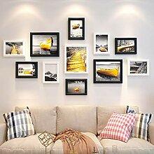 Holz Fotowand, Multi-Screen-Galerie Glas
