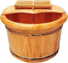 Holz Fußbad, Massage Fuß Badewanne, Anzug