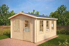Holz-Gartenhaus Modern Eva C 12m² / 40mm / 3×4