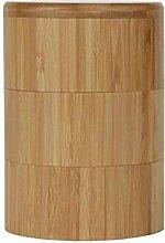 Holz Gewürz Shaker Glas Zucker Salz Pfeffer