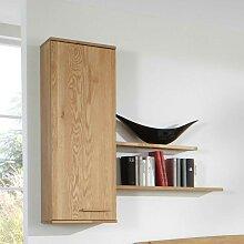 Holz Hängeschrank mit Wandregalen 120 cm