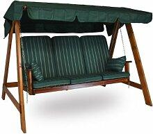 Holz Hollywoodschaukel Honig (3-Sitzer) Design