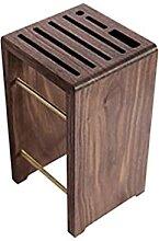 Holz Holz Küchenmesser Halter Schere Gadget