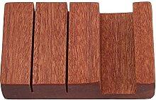 Holz Holzmesserhalter Bambus Wandmontierter