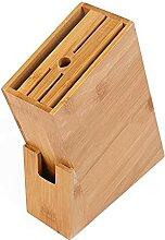 Holz Holzmesserhalter Rest Bambusmesser Block