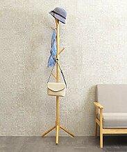 Holz Kleiderständer Kleiderbügel freistehend mit