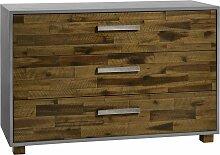 Holz-Kommode Calvia, Akazie braun