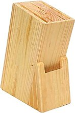 Holz Küchenholzmesserhalter Bambusmesser Block