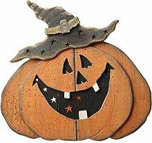 Holz Kürbis Halloween Dekoration