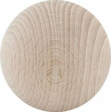 Holz-Kugel ø 60 mm, Buche natur