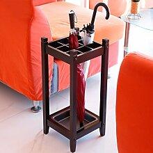 Holz Lange/kurze Umbrella Stand Öffentliche Lobby