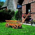 Holz Leiterwagen 1/Stck  ,Länge:120cm