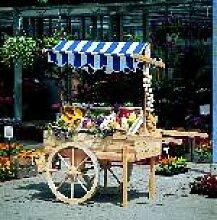 Holz Marktwagen 1/Stck  ,Länge:173 cm ,Breite:82