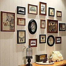 Holz Mehrere Bild Bilderrahmen Collage Wand Sets