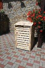 Holz Mülltonnenbox Vario III 1Stck./SET