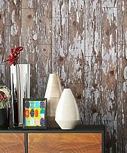 Holz Muster Tapete Beige Grau Braun Edel   schöne