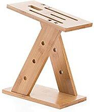 Holz Natürliche Holz Messer Halter Ständer