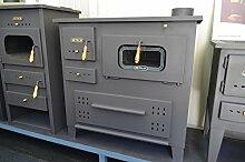 Holz-Ofen aus Gusseisen Top Log Brenner Kochen Ofen Log Brenner Prity 13kW