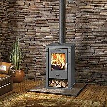 Holz-Ofen Kamin Brenner Log, moderne Kaminofen 7,5kW